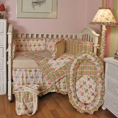 Hoohobbers Ballerina Crib Bedding Collection
