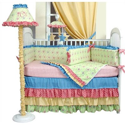 Hoohobbers Crib Bedding Collection in Cha Cha Cha