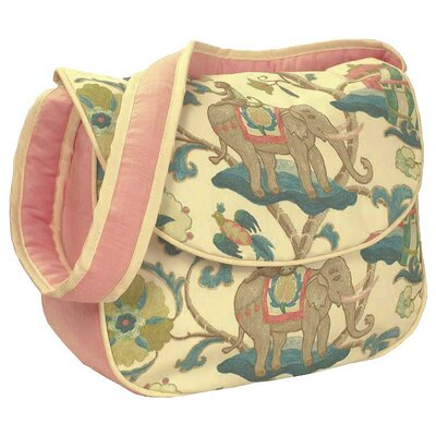 Hoohobbers Cirque Pink Messenger Diaper Bag