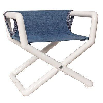 Personalized Junior Director Chair in Denim Canvas