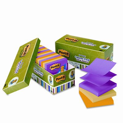 Post-it® Pop-Up Ultra Refill Note Pad, 18 Pack
