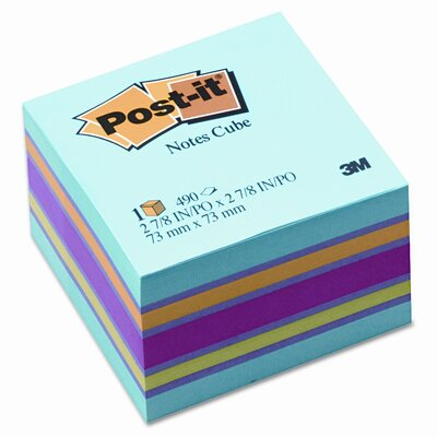 Post-it® Cube Note Pad, 470 Sheet