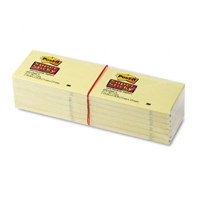 Post-it® Super Sticky Note Pad, 12 Pack