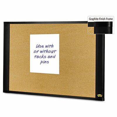 Post-it® Sticky Cork Bulletin Board