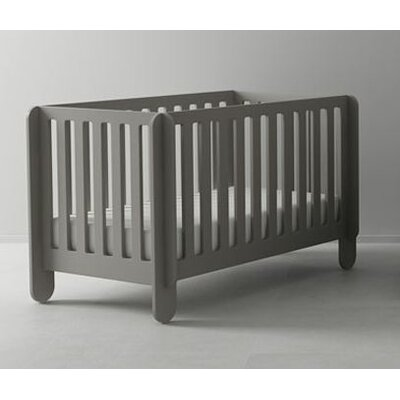 Elephant Crib in Grey