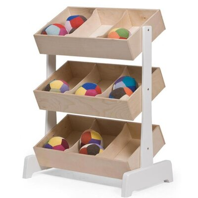 Oeuf Classic Toy Store 9 Compartment Cubby