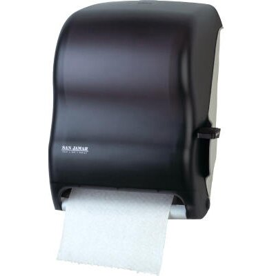 San Jamar Lever Roll Towel Dispenser without Transfer Mechanism in Black