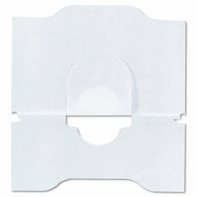 Scott Sanitary, Flushable, White Toilet Seat Covers, 18 x15, 24 Pack/Carton
