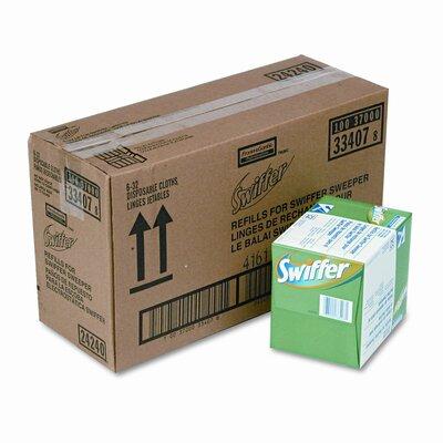 Swiffer Dry Refill System, 32/Box, 6/Carton