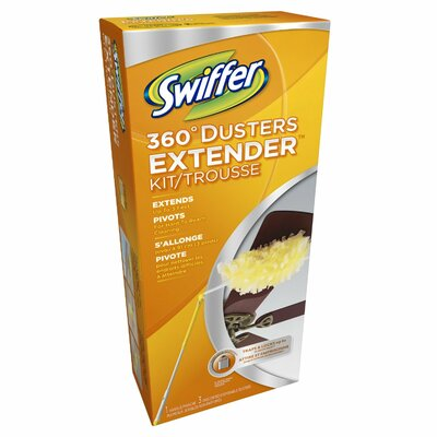 Swiffer Swiffer Dusters with Extendable Handle, 1 Handle and 2 Dusters/box