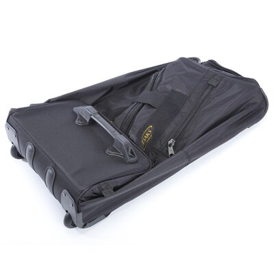 "A.Saks Expandable 25"" 2-Wheeled Travel Duffel"
