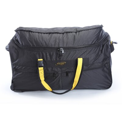 "A.Saks Expandable 31"" 2-Wheeled Travel Duffel"