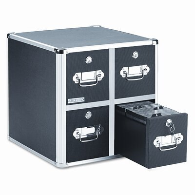 Vaultz® 4 Drawer CD File Cabinet