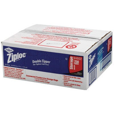 Ziploc® Double Zipper Bags in Clear