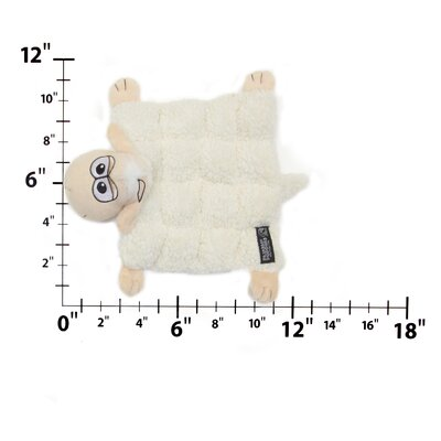 Kyjen Plush Puppies Sheep Squeaker Mat for Dog