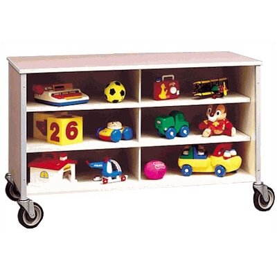 Fleetwood Twelve Cubbby Rolling Storage Cabinet