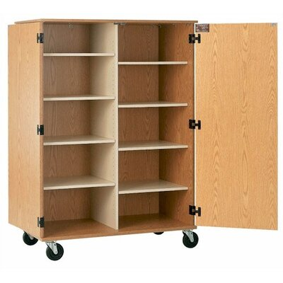 Fleetwood Encore Storage Cabinet with 8 Adjustable Shelves