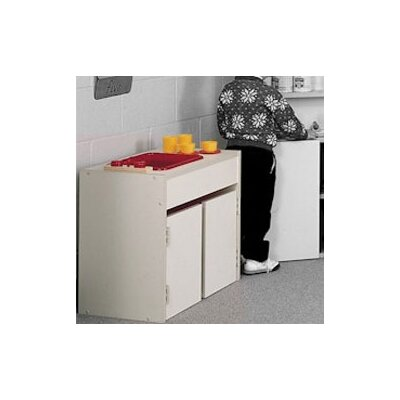 Fleetwood Koala-Tee Play Kitchen Sink and Counter Cabinet Unit
