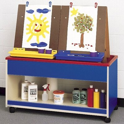 Fleetwood Koala-Tee Double Sided Rolling Art Cart