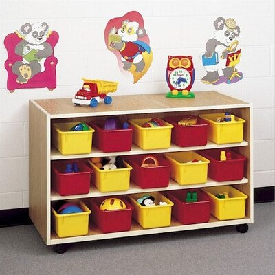 Fleetwood Koala-Tee 30 Compartment Double Sided Mobile Storage Cabinet with Optional Trays