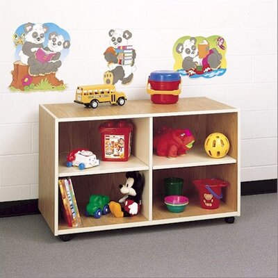 Fleetwood Koala-Tee Mobile Four Cubby Storage Shelves