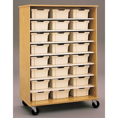 "Fleetwood Encore 68"" Double Sided Shelf Cabinet"