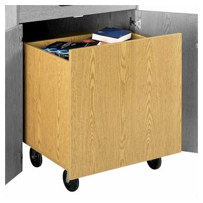 Fleetwood Library Modular Front Desk System - Depressible Book Truck