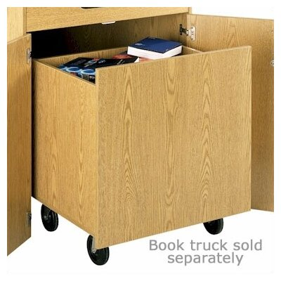 Fleetwood Library Foyer Book Return Unit with Doors