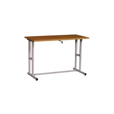 Fleetwood Adjustable Work Table with Hand Crank