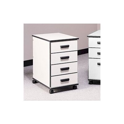Fleetwood Solutions Four-Drawer Mobile File Cabinet