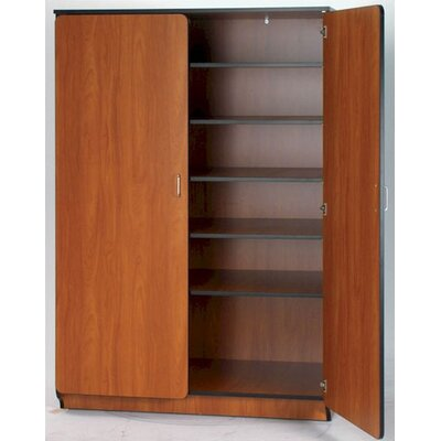 "Fleetwood Illusions 84"" H General Teacher Storage Cabinet with Six Adjustable Shelves"