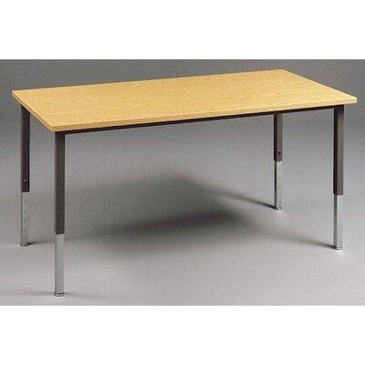 Fleetwood Multi Use Rectangular Table with Adjustable Height