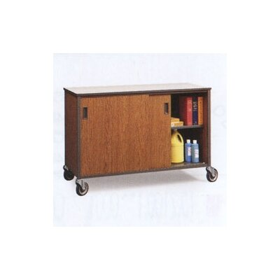 "Fleetwood 30"" H Shelf Cabinet with Optional Hinged Doors"