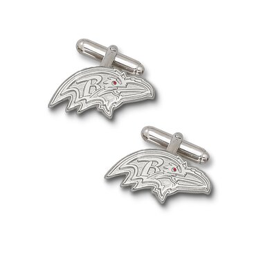 LogoArt® NFL Cuff Links in Sterling Silver