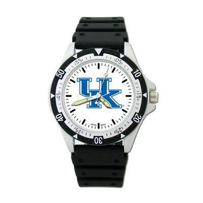 LogoArt® NCAA Team Logo Watch with Rubber Strap