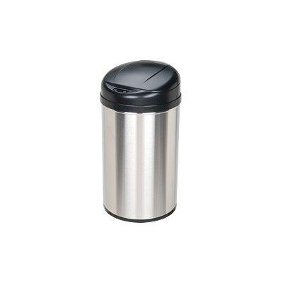 Nine Stars 10.5 Gallon Stainless Steel Motion Sensor Trash Can