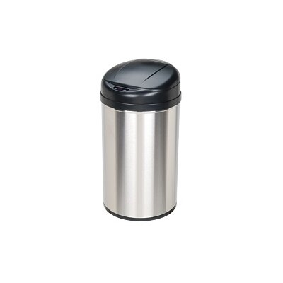 10.5 Gallon Stainless Steel Motion Sensor Trash Can