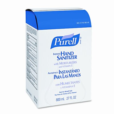 Purell® Instant Hand Sanitizer Refill Bag-In-Box, 800ml/Bag