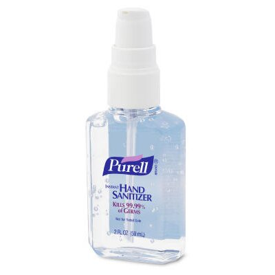 Purell® 2 Oz Instant Hand Sanitizer Personal Pump Bottle in Clear