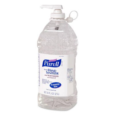 Purell® Instant Hand Sanitizer Bottle in Clear