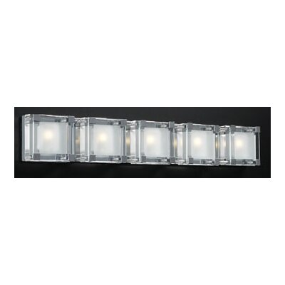 PLC Lighting Corteo 5 Light Vanity Light