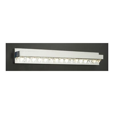 PLC Lighting Crysto 8 Light Vanity Light