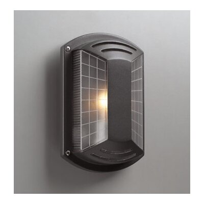 PLC Lighting Athena Outdoor Wall Sconce in Architectural Bronze