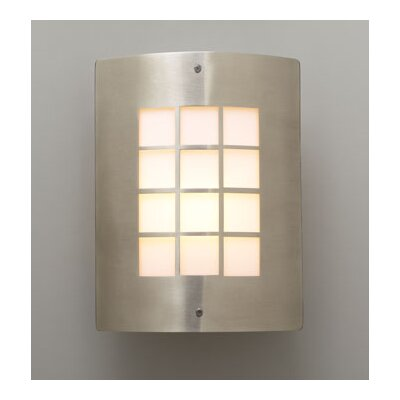 PLC Lighting Turin 1 Light Outdoor Wall Sconce