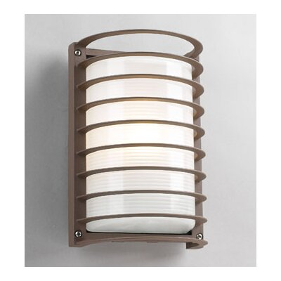 PLC Lighting Evora 1 Light Outdoor Wall Sconce