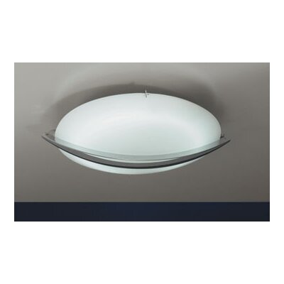 PLC Lighting Enzo Flush Mount