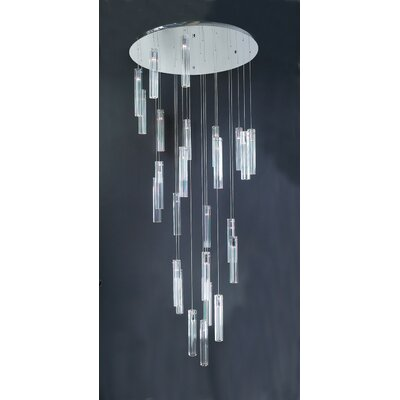 PLC Lighting Segretto 25 Light Pendant