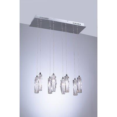 PLC Lighting Pila 8 Light Pendant