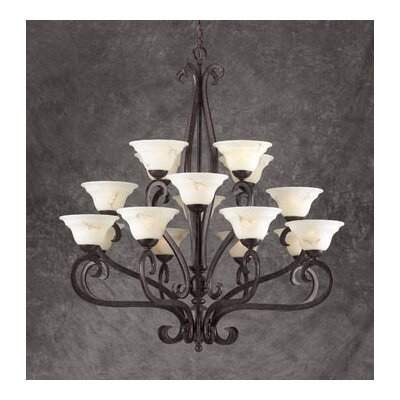 PLC Lighting Mayfair 16 Light Chandelier