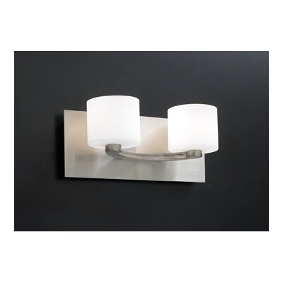PLC Lighting De Lion 2 Light Vanity Light